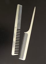 aluminum metal hair comb, barber comb, habokam, haircomb, hair comb in metal,